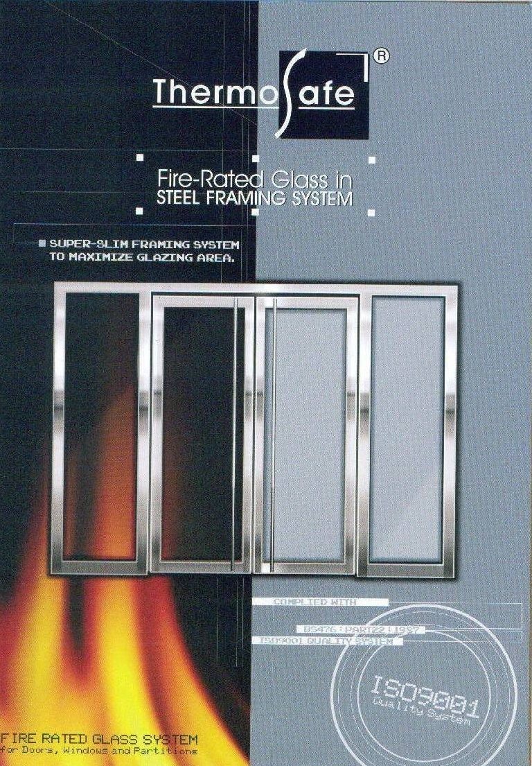 Fire Rated Glass Door System Joint Billion Fire Door