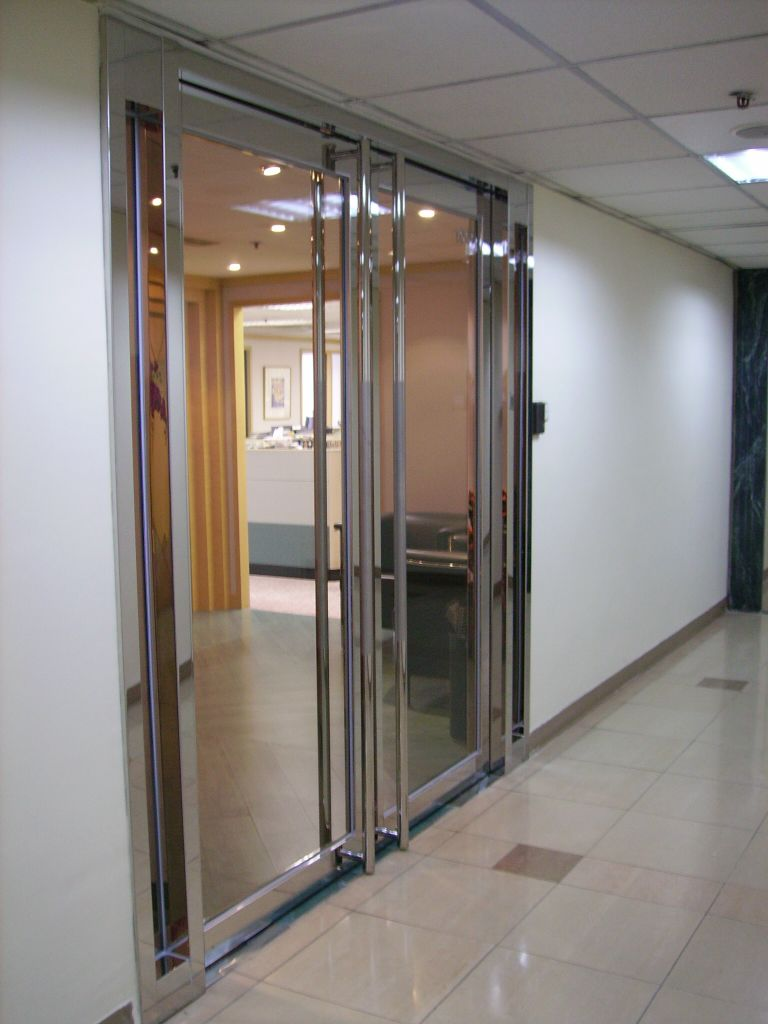 Fire rated glass door innovation for 1 hr rated door