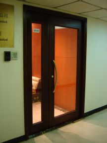 Fire-Rated Glass Door System